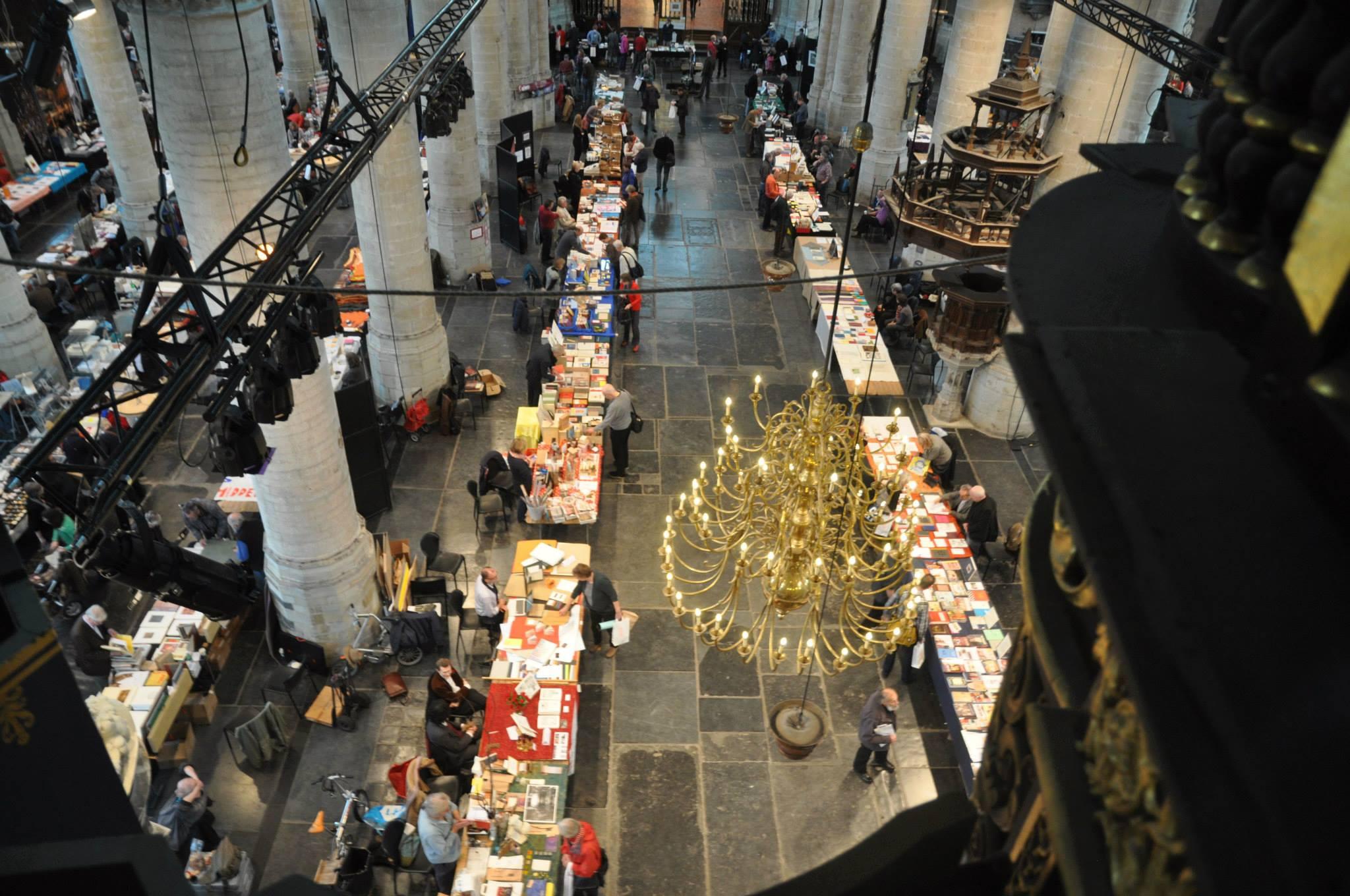 Boekkunstbeurs Leiden 2018 Pieterskerk